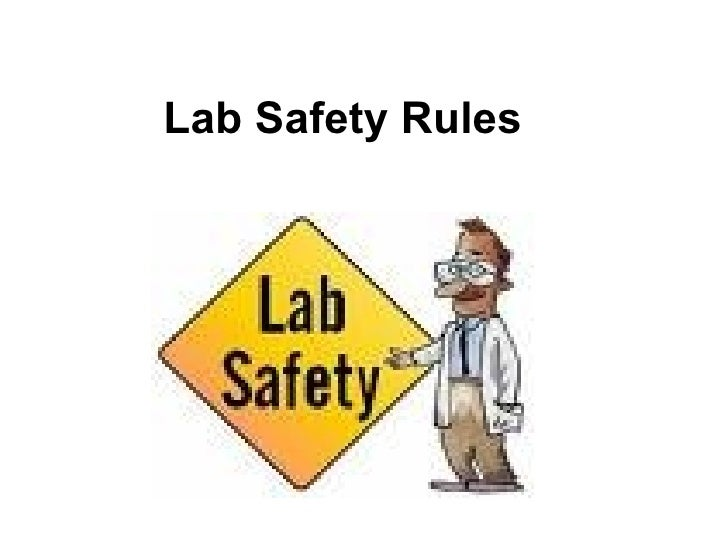The form below to delete this lab safety rules image from our index