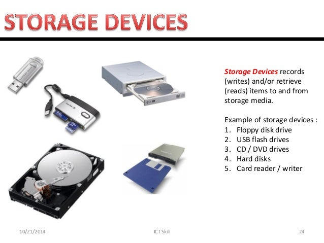 Storage Devices Examples Lab 1 Introduction To Computer