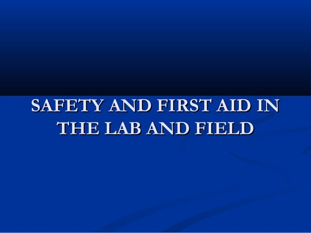 first aid lab essay Essays related to first aid and cpr 1 cpr at first there were only a few members centered mostly in colleges and universities.