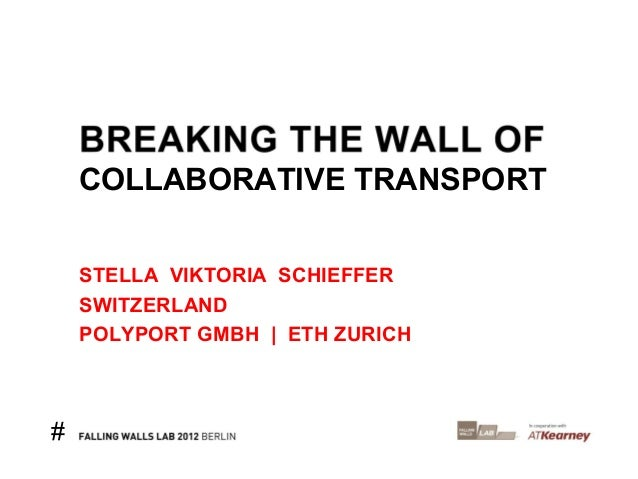 COLLABORATIVE TRANSPORT    STELLA VIKTORIA SCHIEFFER    SWITZERLAND    POLYPORT GMBH | ETH ZURICH#