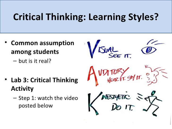 learn critical thinking How to study and learn (part one) all thinking occurs within, and across, disciplines and domains of knowledge and experience, yet few students learn how to think well within those domains despite having taken many classes, few are able to think biologically, chemically, geographically, sociologically, anthropologically, historically, artistically, ethically, or philosophically.