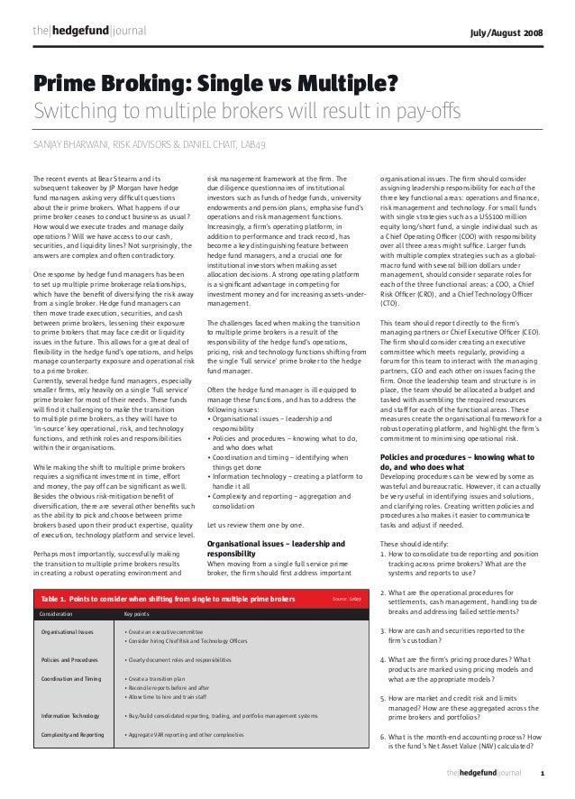 Lab49 feature hedgefundjournalaug08-multiprimebrokerage