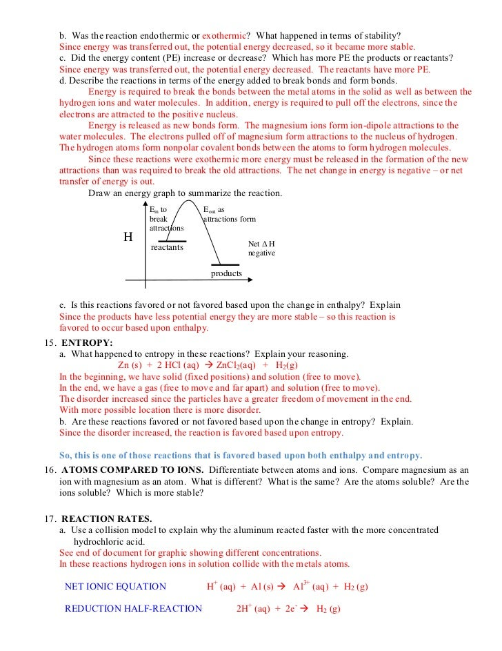 Printables Endothermic And Exothermic Worksheet endothermic and exothermic worksheet imperialdesignstudio reactions lab 5 sample