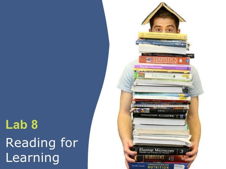 Lab 8: Reading for Learning