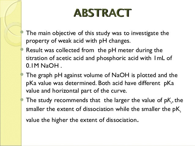 chemistry lab report abstract Basic format of a chemistry lab report (printable version here)abstract - the abstract is a brief summation of the experiement it should not exceed two hundred words and should explain, in a concise manner, the purpose of the experiment, how the experiment was conducted, and the results gained.