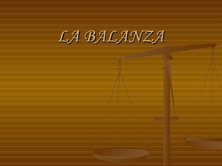 La Balanza
