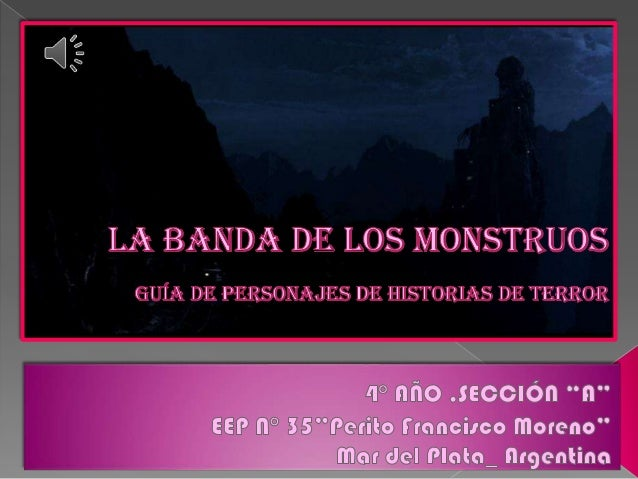La banda de los monstruos