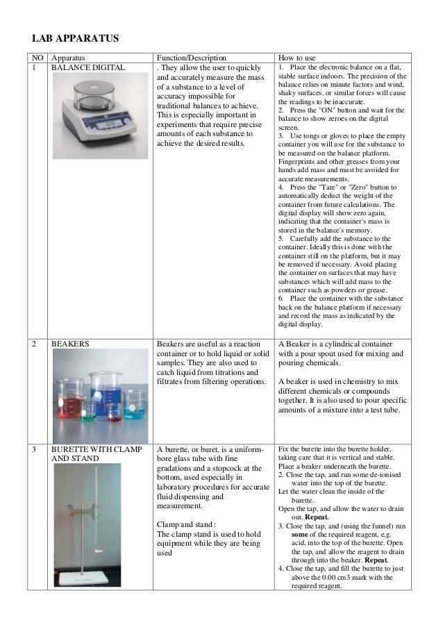 Lab apparatus