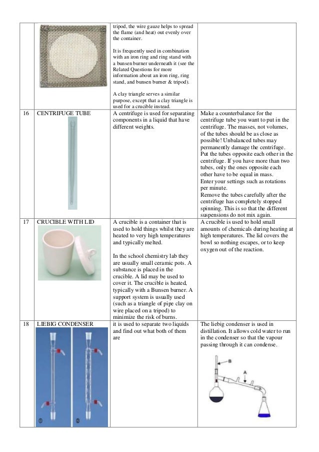 Quiz amp Worksheet  Chemistry Lab Equipment  Studycom