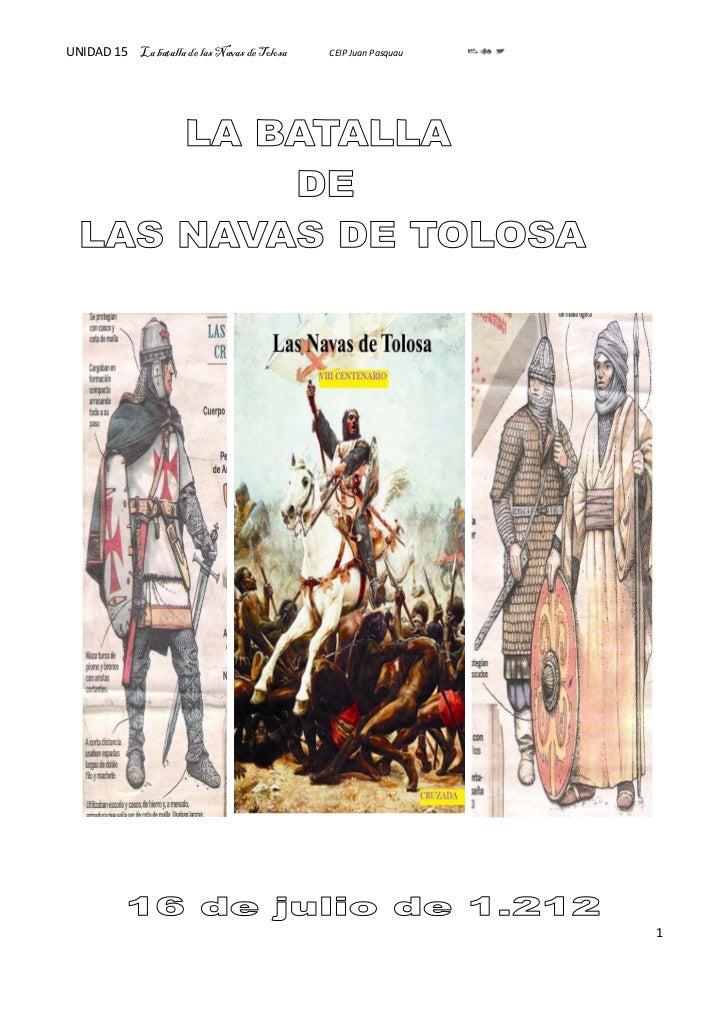 UNIDAD 15 La batalla de las Navas de Tolosa   CEIP Juan Pasquau                                                           ...