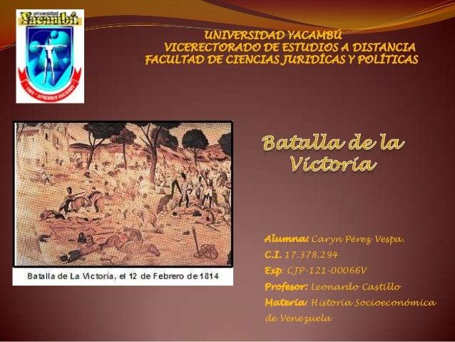 UNIVERSIDAD YACAMBÚ   VICERECTORADO DE ESTUDIOS A DISTANCIAFACULTAD DE CIENCIAS JURIDÍCAS Y POLÍTICAS                  Alu...