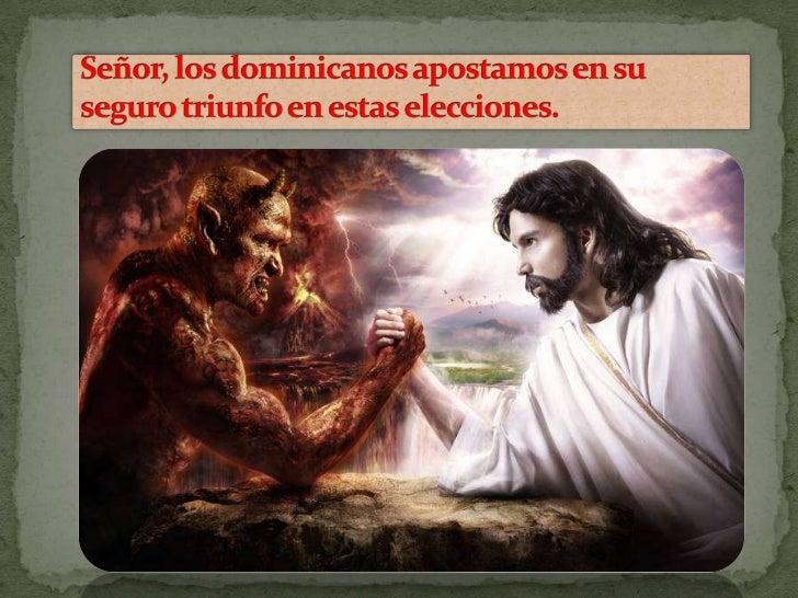 La batalla entre las fuerzas del bien contra el mal.
