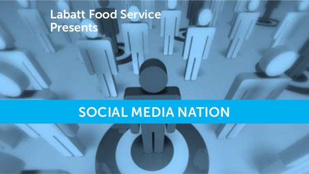 Labatt Food Service Presents  SOCIAL MEDIA NATION