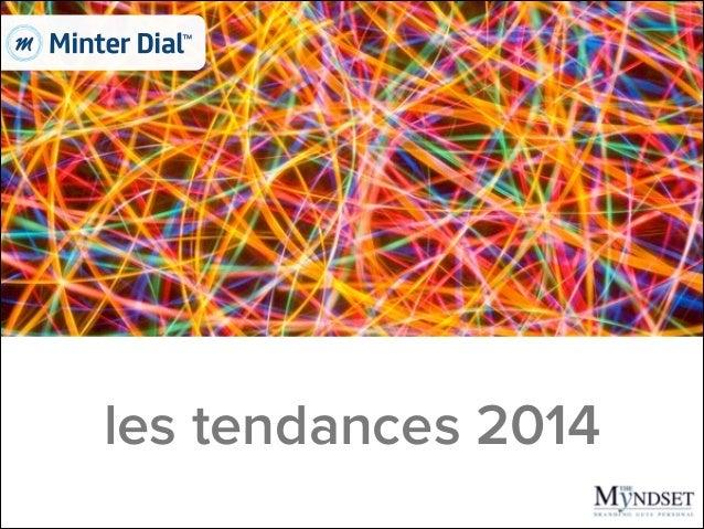 les tendances 2014