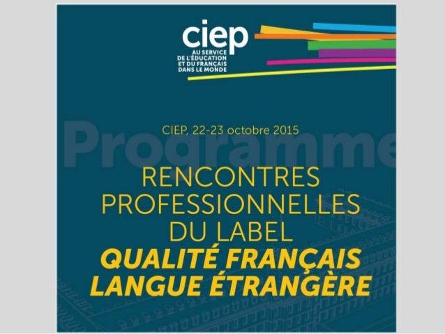 Au service de la promotion de la langue française