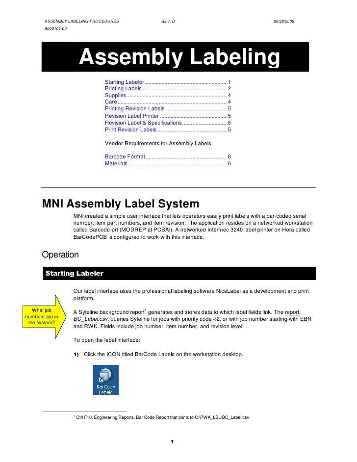Labeler Guide