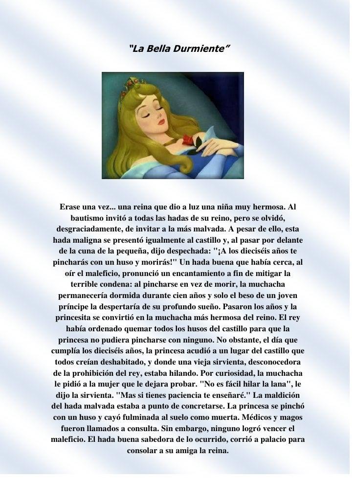 """""""La Bella Durmiente""""<br />1082040210820<br />Erase una vez... una reina que dio a luz una niña muy hermosa. Al bautismo in..."""
