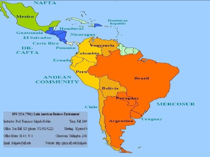 Latin American Business Environment (Fall 2009)