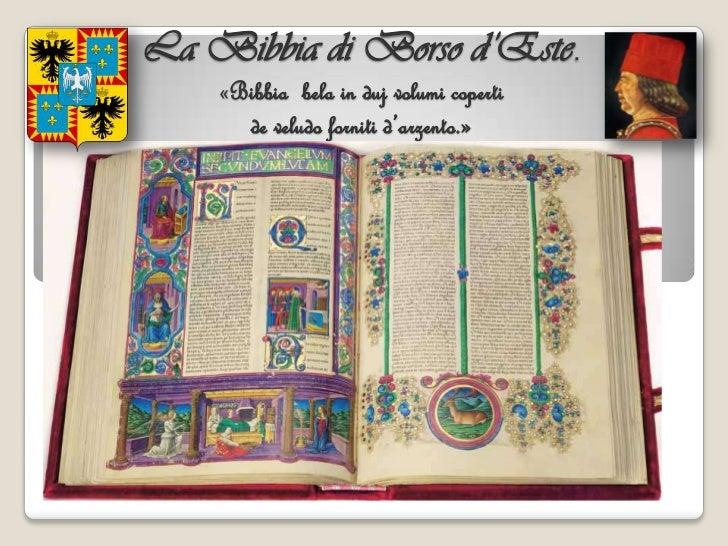 "La ""Bibbia"" di Borso d'Este"