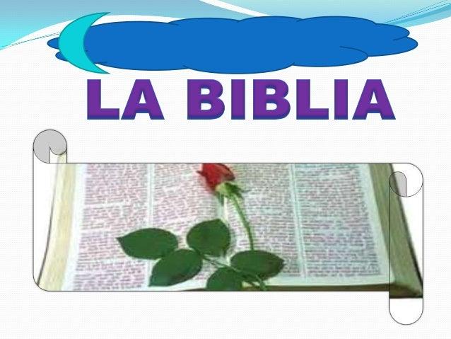 """¿Que es la biblia?La palabra Biblia proviene de laspalabras griega y latina que significan""""libro"""", un nombre muy apropiado..."""