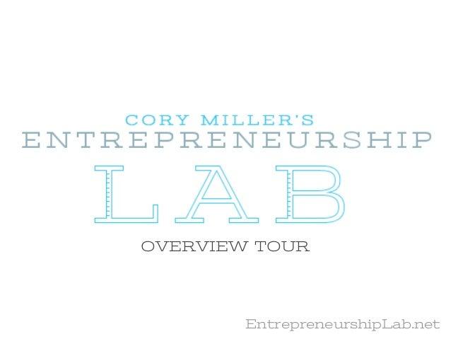 EntrepreneurshipLab.net Tour
