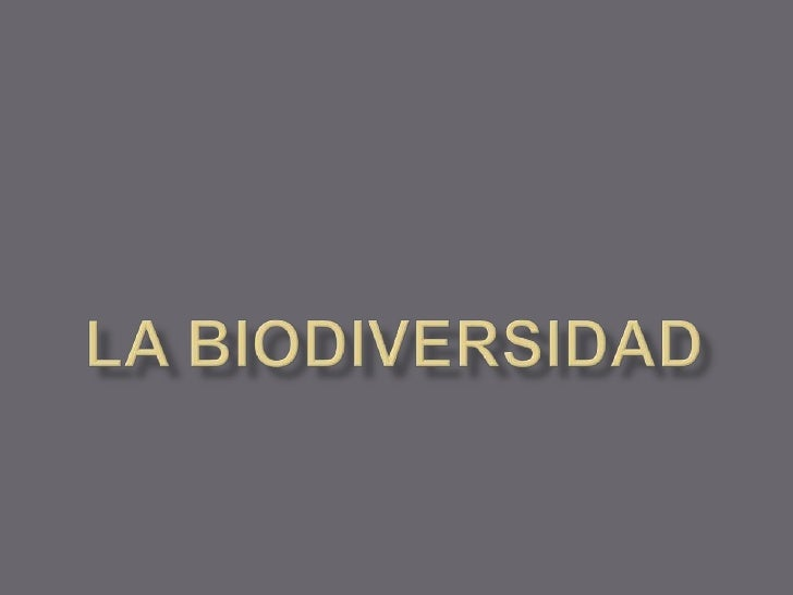 La biodiversidad[1]
