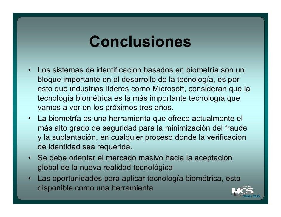 Sistemas Biometricos de Identificacion Sistemas de Identificaci n
