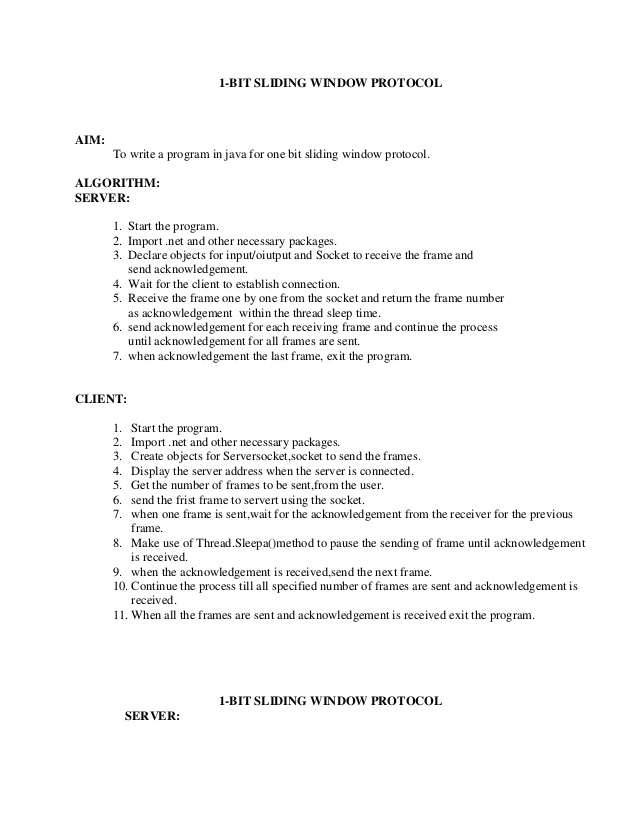 Lab manual cn-2012-13