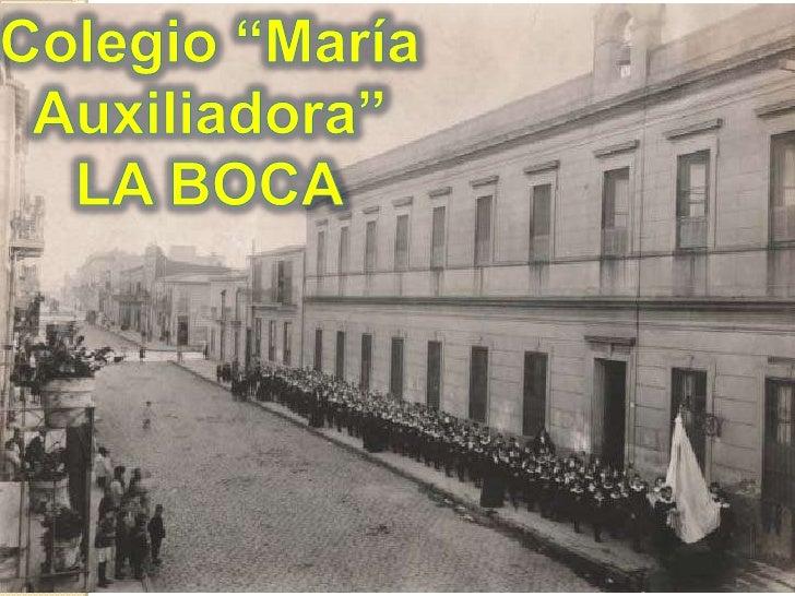 """Colegio """"María Auxiliadora""""<br />LA BOCA<br />"""