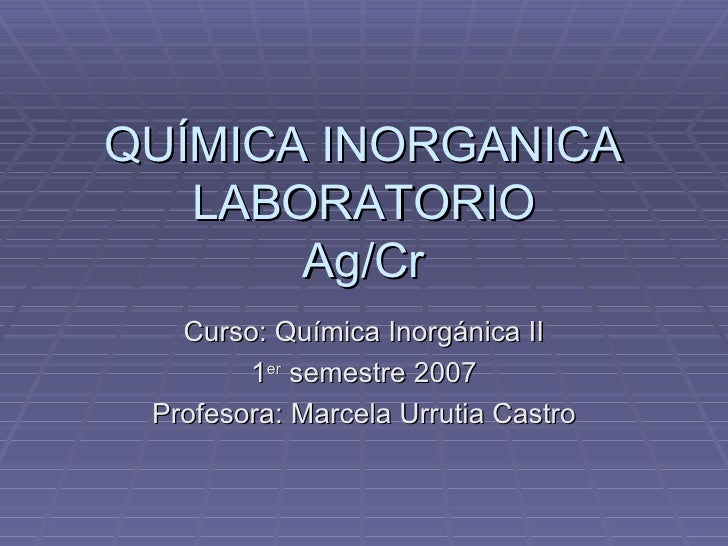 Laboratorio Ag Cr