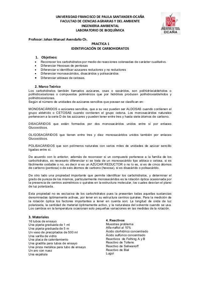 UNIVERSIDAD FRANCISCO DE PAULA SANTANDER-OCAÑA                     FACULTAD DE CIENCIAS AGRARIAS Y DEL AMBIENTE           ...