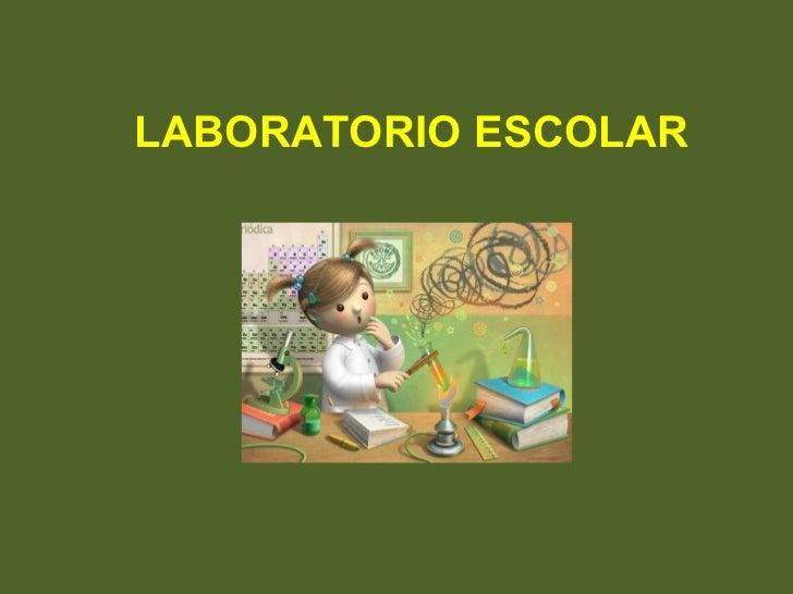 Laboratorio Escolar