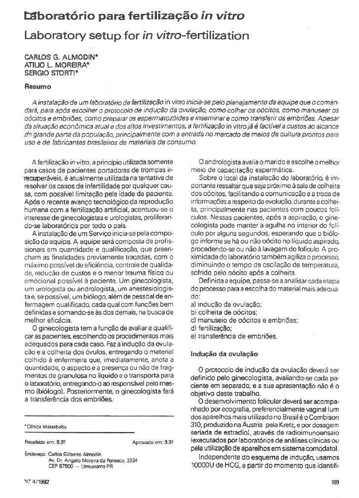 Laboratório para fertilização in-vitro