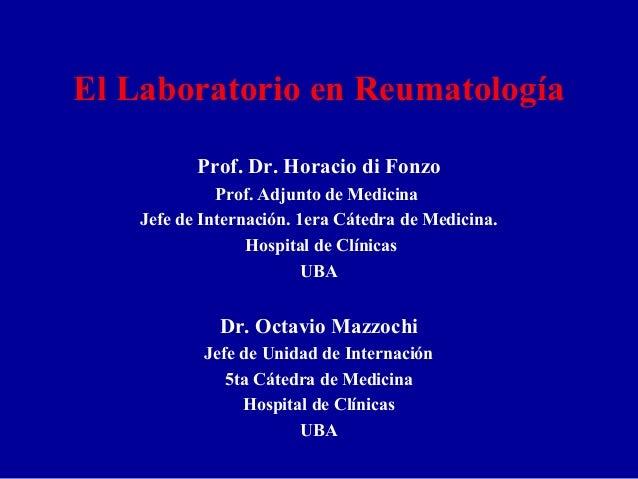 Laboratorio reumato di fonzo 2