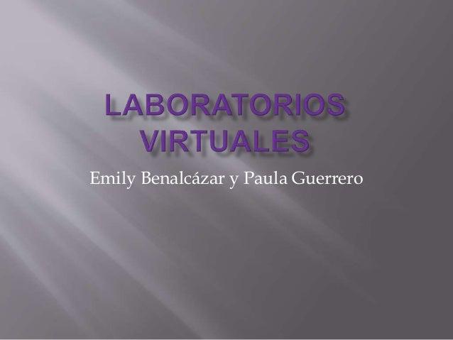 Emily Benalcázar y Paula Guerrero