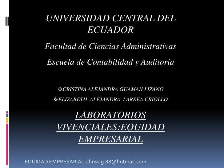 Laboratorios Vivenciales 1