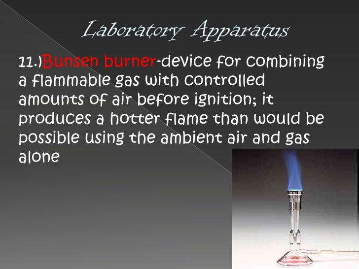 Bunsen Burner Definition Images