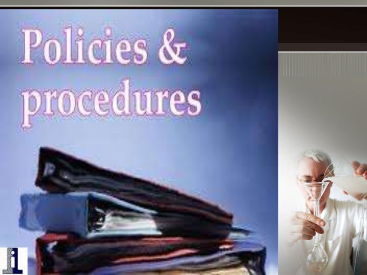 clinical laboratory policy and procedure manual