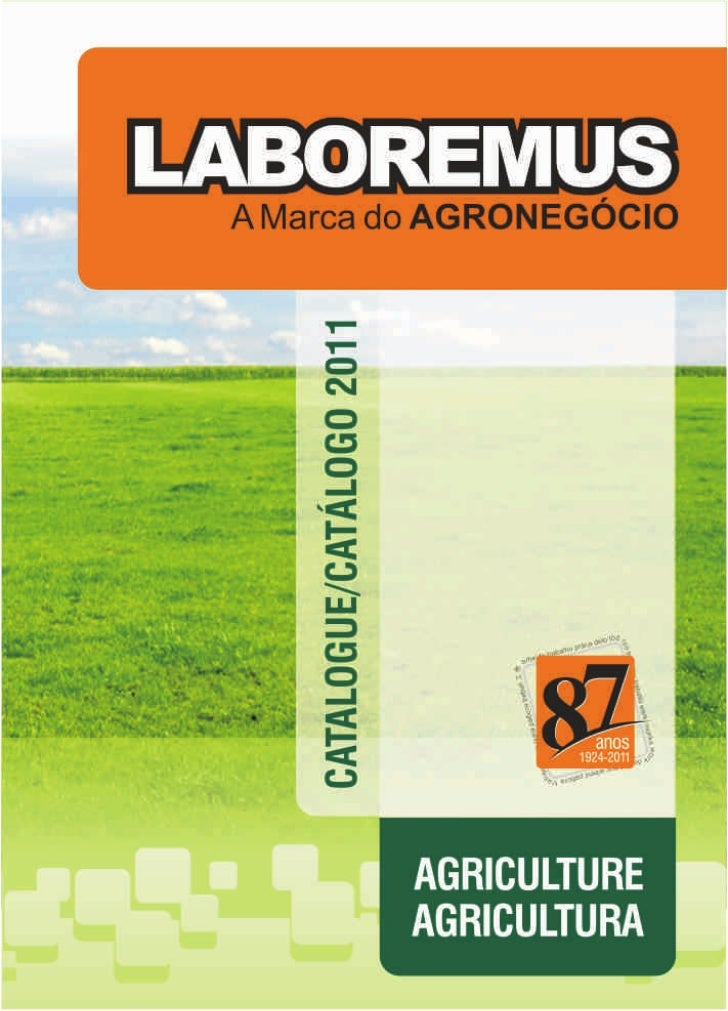 Catalogue Agriculture, Catalogo Agricultura, Catalogo Agropecuária Laboremus 2011