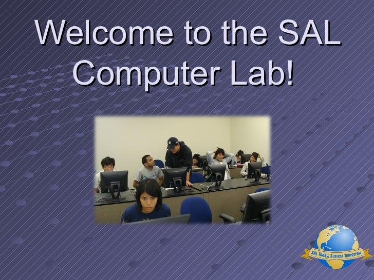 Lab orientation