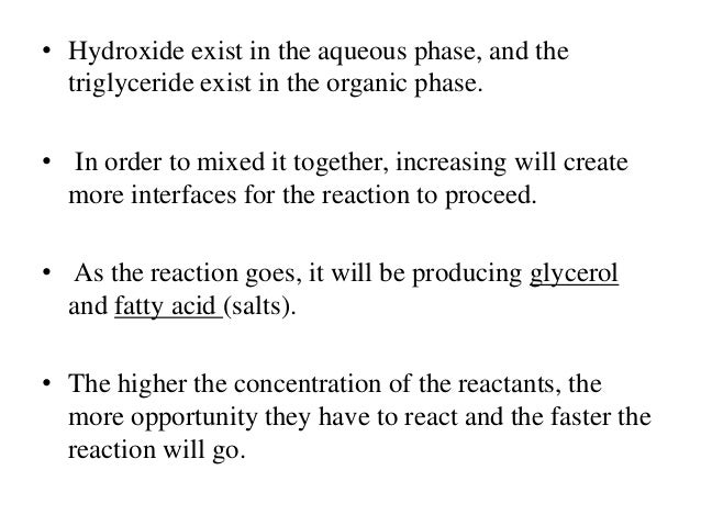 lab report order of reaction The decomposition of hydrogen peroxide in the lab • students will work in pairs superscripts, m and n, are the order of the reaction with.