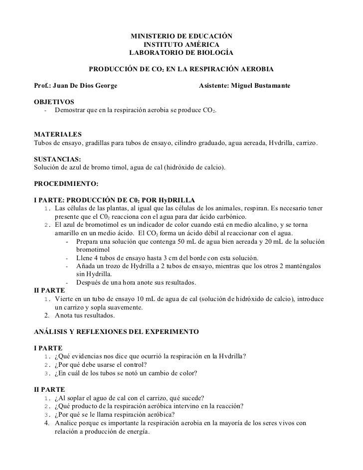 MINISTERIO DE EDUCACIÓN                                     INSTITUTO AMÉRICA                                  LABORATORIO...