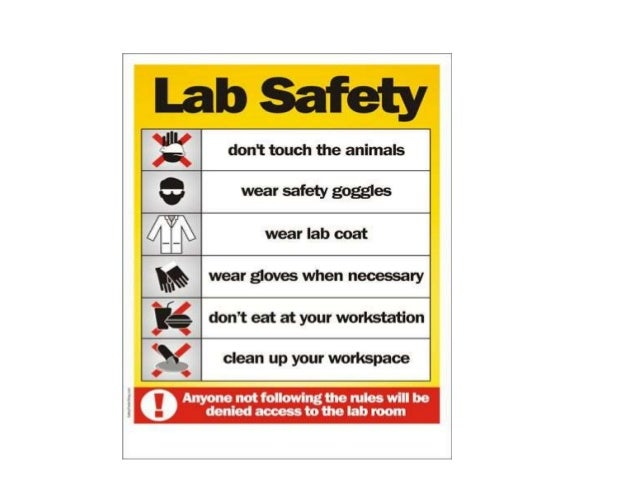 Lab Safety And Regulations By Dr Brahmesh Pg Biochemistry