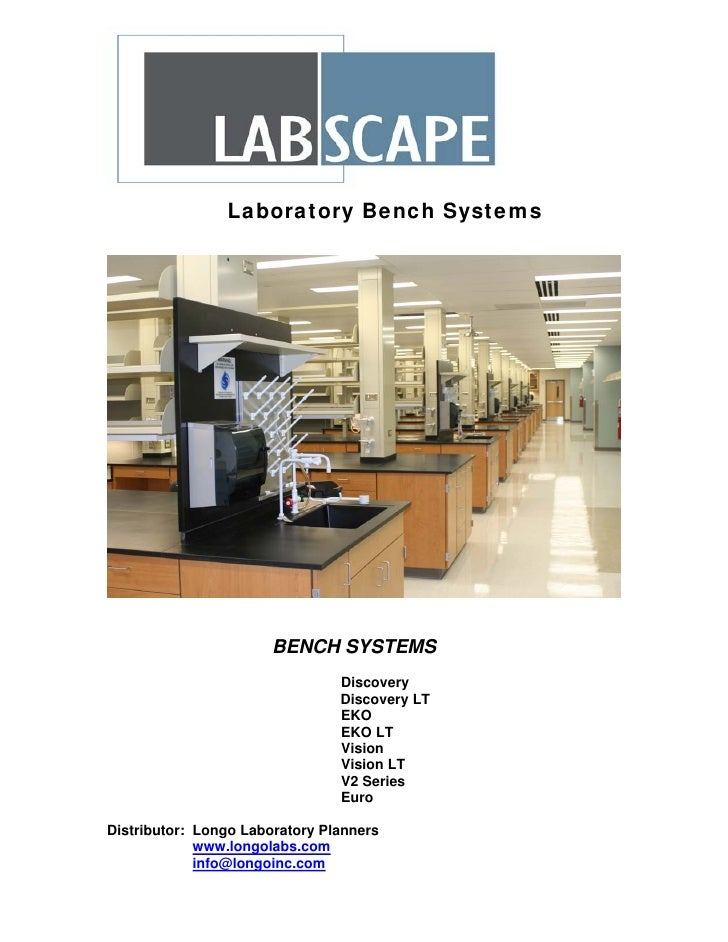 Laboratory Bench Systems                            BENCH SYSTEMS                                 Discovery               ...