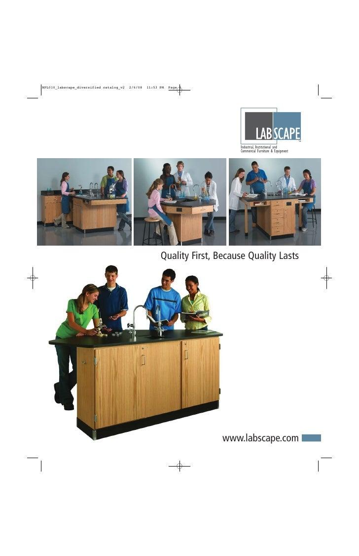 Labscape School Lab Furniture Catalog (2009)