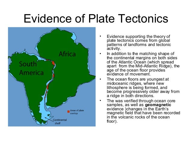 Support Plate Tectonics Evidence of Plate Tectonics