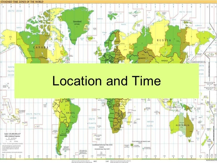 Lab two location and time