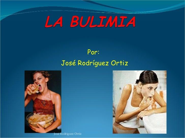 Por: José Rodríguez Ortiz José Rodríguez Ortiz