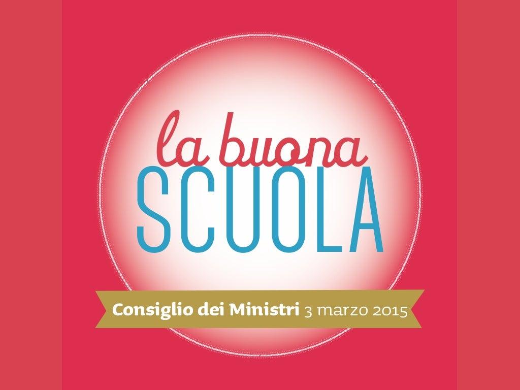 Labuonascuola, Consiglio dei Ministri del 3 marzo 2015