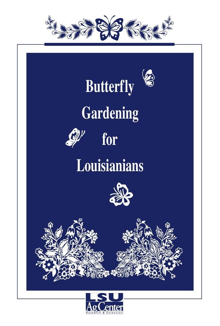 LA: Butterfly Gardening